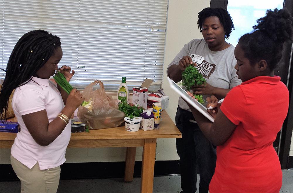 Enrichment education through food preparation