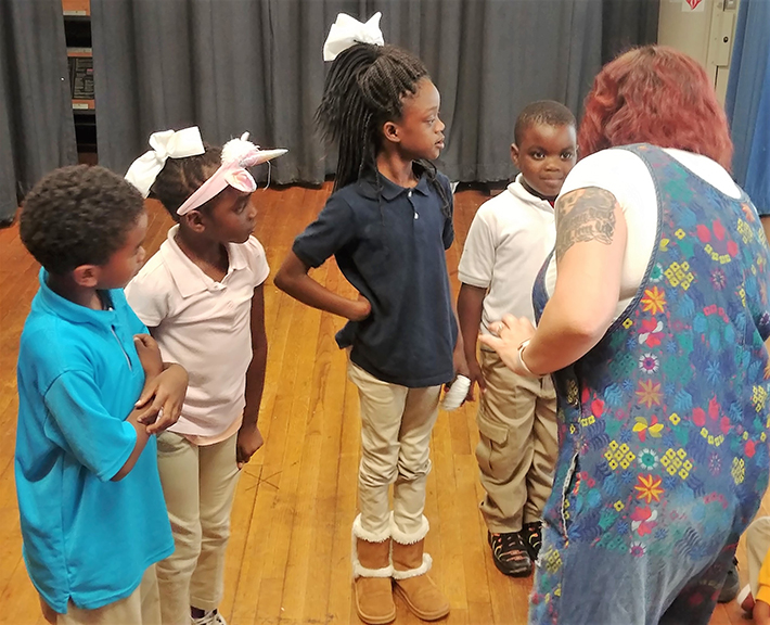 learning through theater
