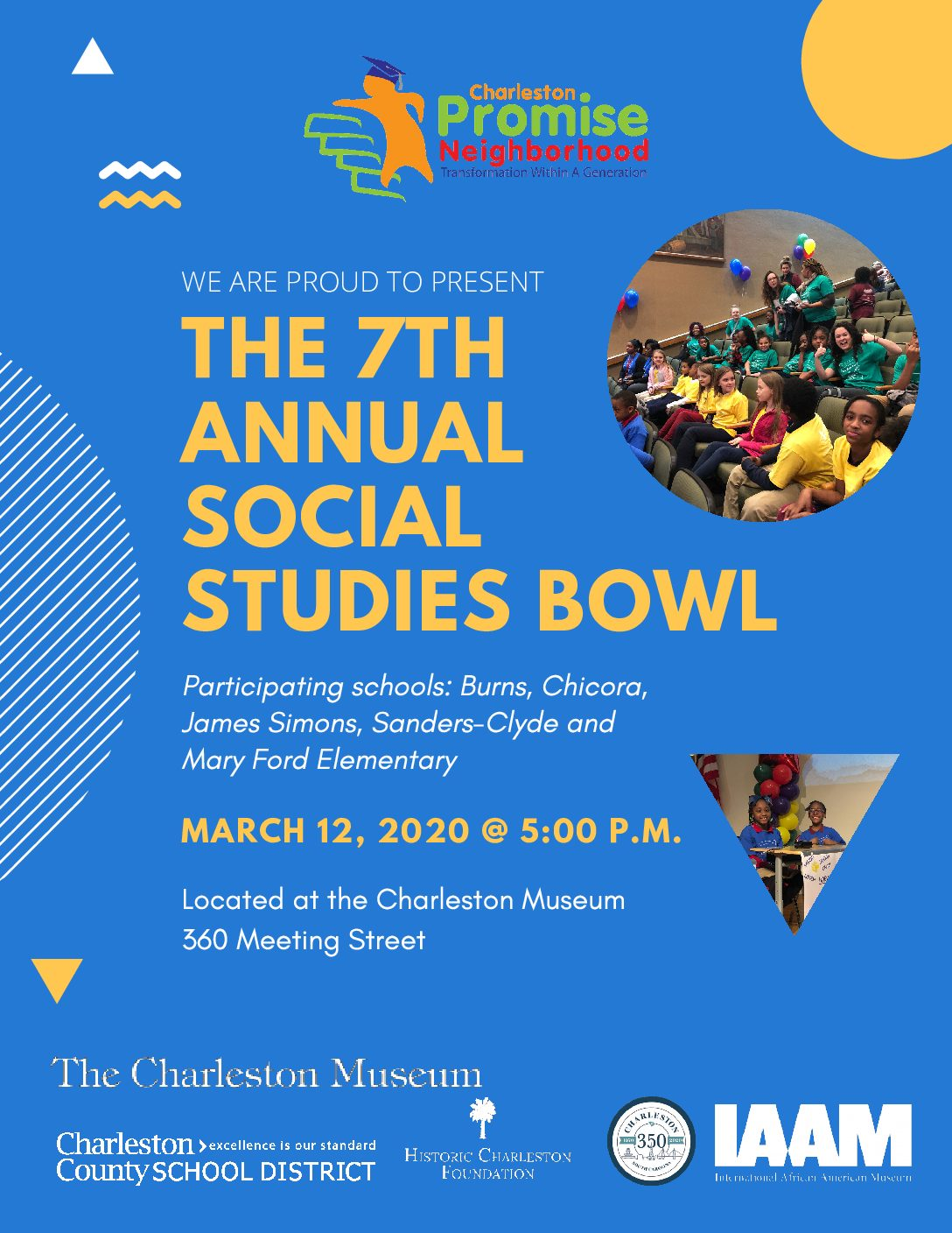 Upcoming Event: CPN's 7th Annual Social Studies Bowl